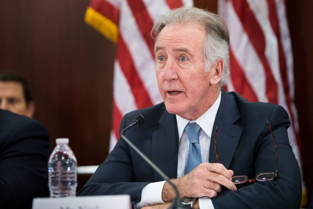 House Ways and Means Committee Chairman Rep. Richard Neal, D-Mass., set a new deadline for the committee to see six years of President Donald Trump's personal and business tax returns of April 23. File Photo by Erin Schaff/UPI