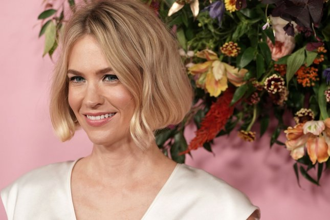 January Jones said she went on a couple dates with Nick Viall after he slid into her DMs. File Photo by Jemal Countess/UPI