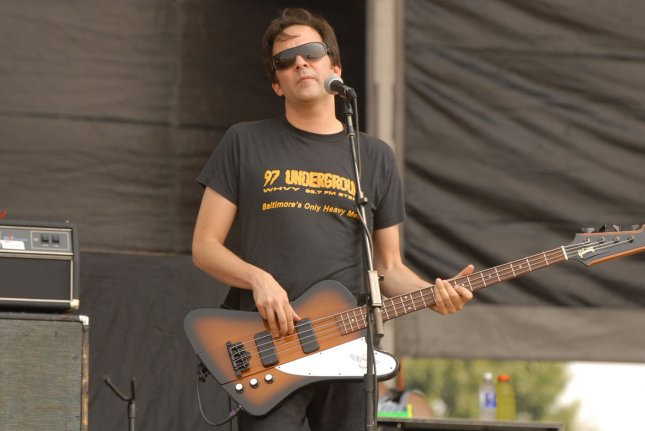 Adam Schlesinger of the band Fountains of Wayne died Wednesday at age 52. File Photo by Alexis C. Glenn/UPI