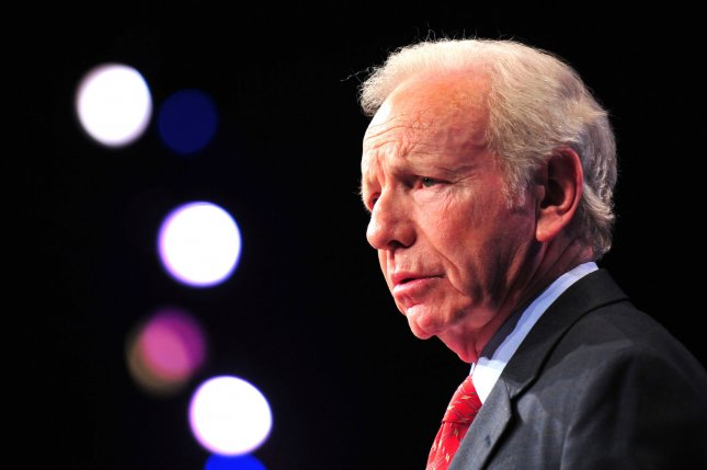 Sen. Joe Lieberman, Ind-Conn., isn't attending either the Democratic or Republican national conventions. March 5 file photo. UPI/Kevin Dietsch
