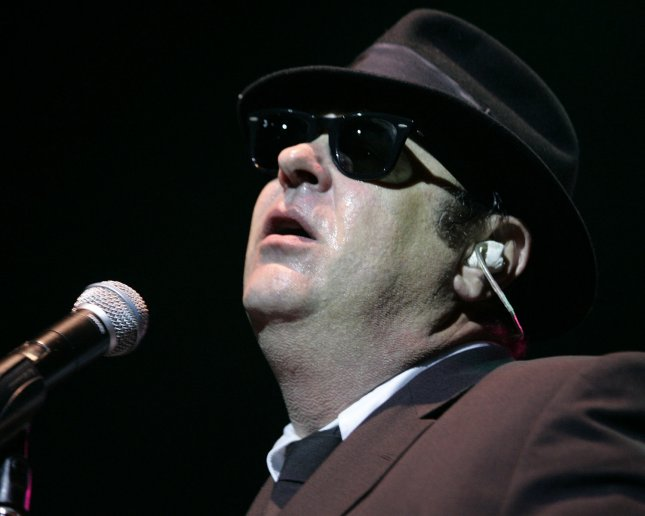 Dan Aykroyd of The Blue's Brothers performs in concert at the Seminole Hard Rock Hotel and Casino in Hollywood, Florida on May 4, 2006. (UPI Photo/Michael Bush)