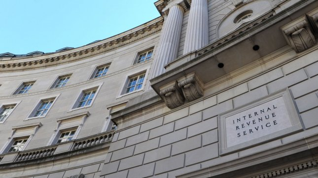 The United States Internal Revenue Service (IRS) Building is seen in Washington on September 20, 2010. (File/UPI/Kevin Dietsch)
