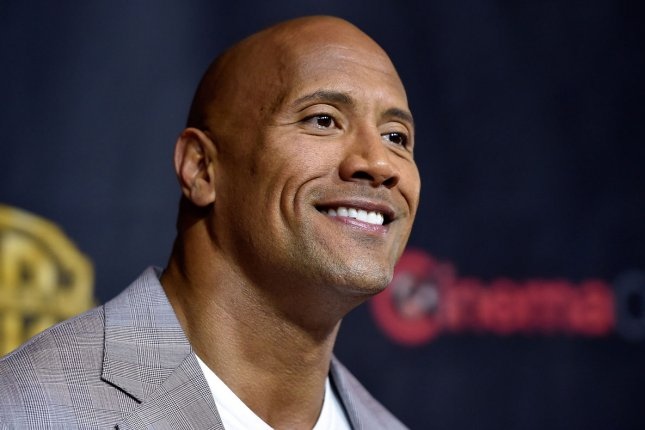 Dwayne Johnson attending Warner Bros. Pictures' The Big Picture, on April 21, 2015. According to star Byung-Hun Lee, G.I. Joe 3 continues to be delayed due to Johnson's busy schedule. File Photo by David Becker/UPI
