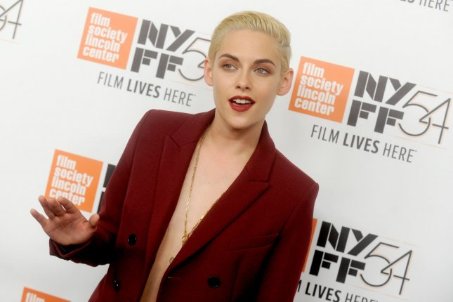 Kristen Stewart arrives on the red carpet at the Certain Women' premiere for the 54th New York Film Festival on October 3. File Photo by Dennis Van Tine/UPI