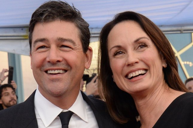 Actor Kyle Chandler (L) and his wife Kathryn arrive for the 23rd annual SAG Awards in Los Angeles on January 29. Chandler's show Bloodline will return for a third and final season next month. File Photo by Jim Ruymen/UPI