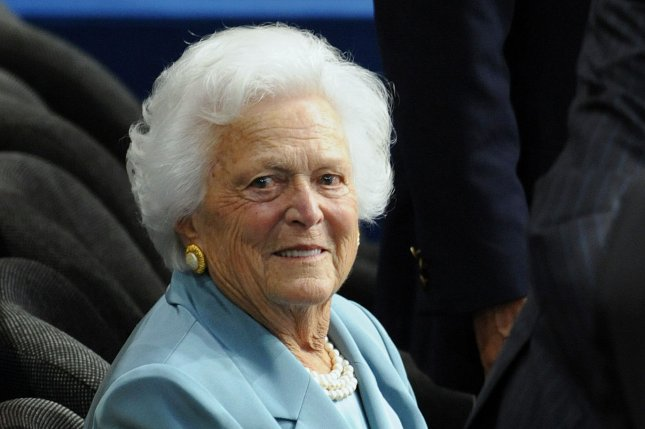 Out of respect for the family, President Donald Trump will not attend the funeral services of Barbara Bush, mother of the 43rd president, George W. Bush and former first lady as wife of 41st President George H.W. Bush. Photo by Roger L. Wollenberg/UPI