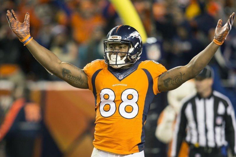 Denver Broncos wide receiver Demaryius Thomas. File photo by Gary C. Caskey/UPI