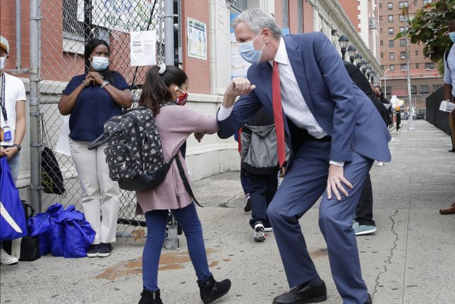 NYC's de Blasio says all schools will reopen in Sept., with no remote option