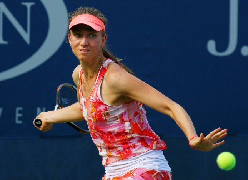 Mona Barthel, shown at the 2013 U.S. Open, picked up a first-round win Sunday at the Hobart International tennis tournament. UPI Photo/Monika Graff