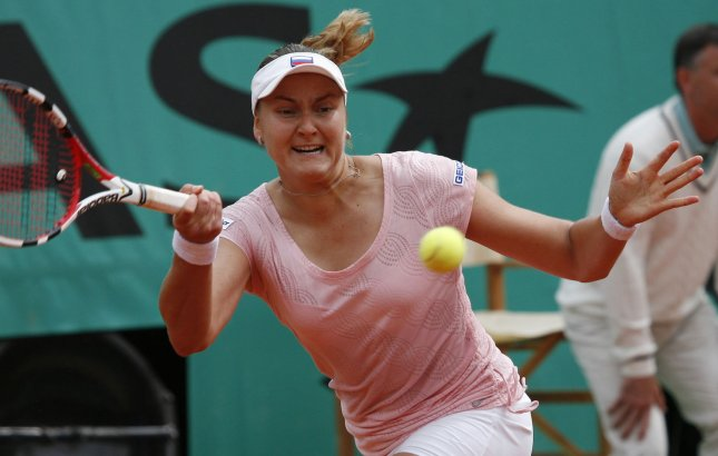 Russian Nadia Petrova, shown at the French Open May 31`, 2008.