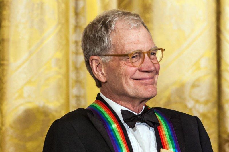 David Letterman. UPI/Brendan Hoffman/Pool