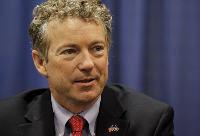 Senator Rand Paul (R-KY) talks to supporters during a book signing during the 2014 Conservative Political Action Conference (CPAC), on March 7, 2014 in National Harbor, Maryland. UPI/Molly Riley