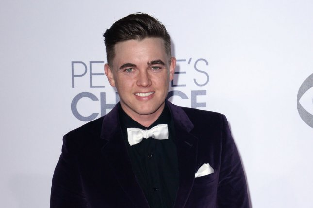 Young Justice voice actor Jesse McCartney is seen at the 41st annual People's Choice Awards in Los Angeles on January 7, 2015. File Photo by Jim Ruymen/UPI