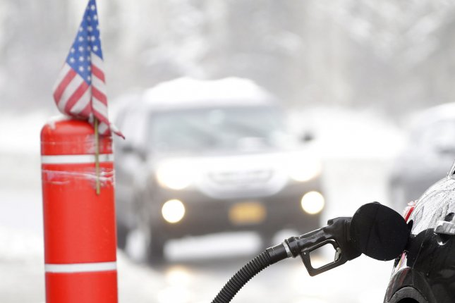 Last year was the cheapest for retail gasoline prices in more than a decade thanks in part to the decline in crude oil prices, federal survey finds. File photo by John Angelillo/UPI