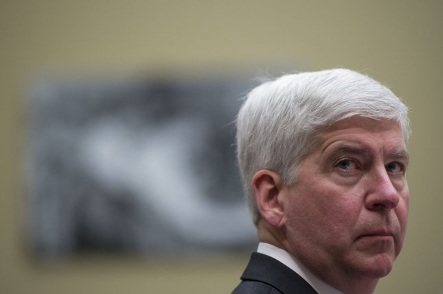 Michigan Gov. Rick Snyder faced pressure over his opposition to some clean power plans at the national level, but his state is meeting its renewable energy goals. Photo by Molly Riley/UPI