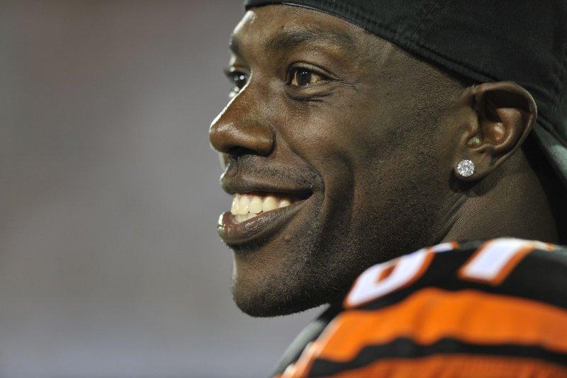 Former Cincinnati Bengals receiver Terrell Owens. File photo by David Richard/UPI