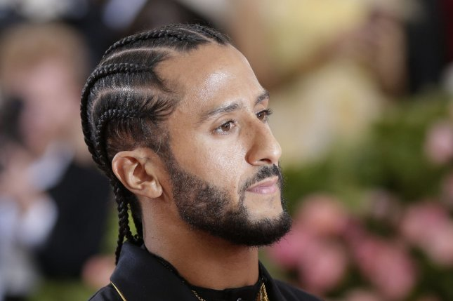 Former San Francisco 49ers quarterback Colin Kaepernick has not played in the NFL since January 2017. File Photo by John Angelillo/UPI