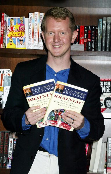 On November 30, 2004, Ken Jennings lost on the U.S. game show Jeopardy! after winning 74 games and $2.5 million. File Photo by Laura Cavanaugh/UPI