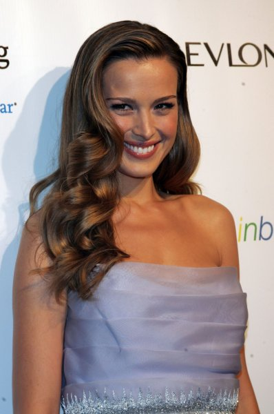 Petra Nemcova arrives for the An Enduring Vision Ninth Annual Benefit for the Elton John AIDS Foundation at Cipriani Wall Street in New York on October 18, 2010. UPI /Laura Cavanaugh