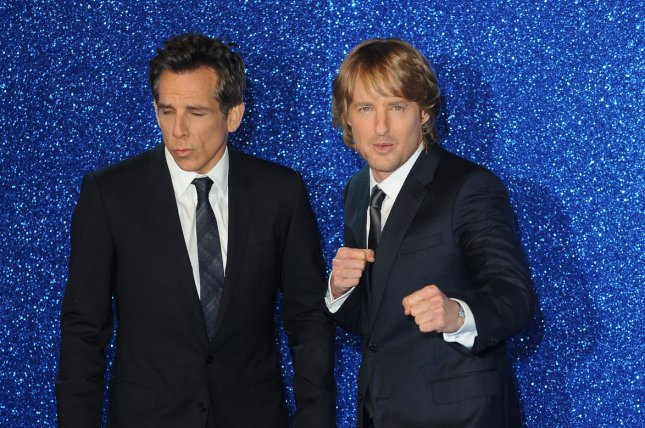 "Ben Stiller and Owen Wilson attend the UK premiere of ""Zoolander 2"" in London on February 4, 2016. Photo by Paul Treadway/ UPI"