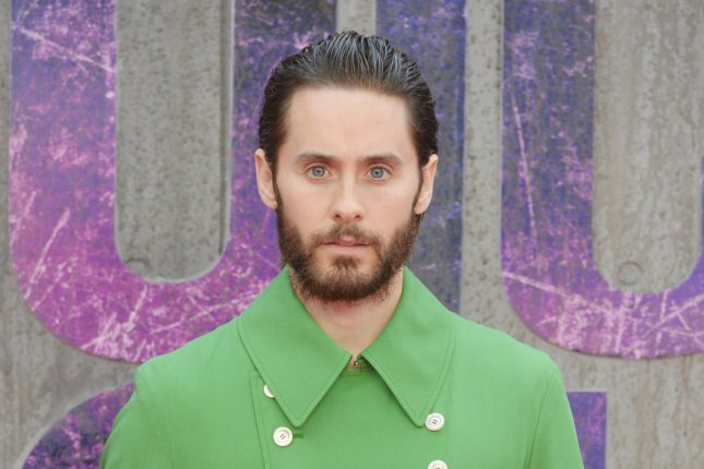 Jared Leto at the London premiere of Suicide Squad on August 3. The actor will star in Warhol. File Photo by Rune Hellestad/UPI
