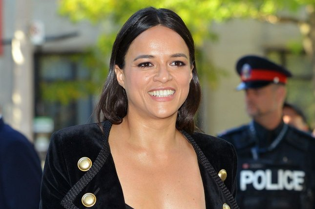 Michelle Rodriguez attends the Toronto International Film Festival premiere of (re)Assignment on September 14, 2016. The actress plays Letty Ortiz in the Fast & Furious film series. File Photo by Christine Chew/UPI