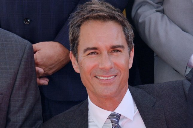 Actor Eric McCormack announced on Twitter that his sci-fi series Travelers has been canceled after three seasons on Netflix. File Photo by Jim Ruymen/UPI