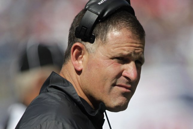 Former Ohio State defensive coordinator will reportedly hold the same title with the Super Bowl champion New England Patriots. File photo by Matthew Healey/UPI