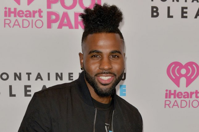 Jason Derulo attends the IHeartRadio Summer Pool Party concert in Miami Beach, Fla., on May 21. Derulo says that he and his staff faced racial discrimination recently while flying with American Airlines. File Photo by Johnny Louis/UPI