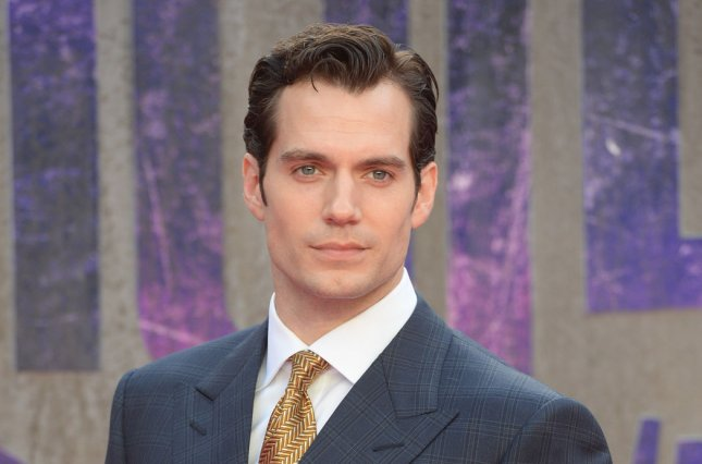 Henry Cavill attends the premiere of Suicide Squad on August 3. Cavill paid tribute to a number of other superhero actors on National Superhero Day. File Photo by Rune Hellestad/ UPI