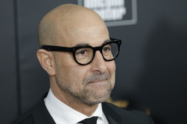 Stanley Tucci arrives on the red carpet at the Beauty and the Beast New York screening on March 13. Tucci's film The Last Portrait is to get a North American release from Sony Pictures Classics. File Photo by John Angelillo/UPI