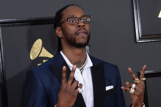 2 Chainz released a new four track EP Thursday titled The Play Don't Care Who Makes It. File Photo by Jim Ruymen/UPI