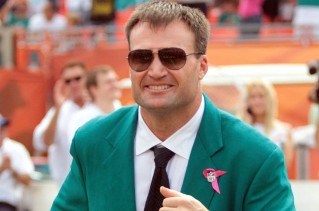Former Miami Dolphins linebacker Zach Thomas was a seven-time Pro Bowl selection and a five-time All-Pro during his 13-year tenure with the franchise. File Photo by Susan Knowles/UPI