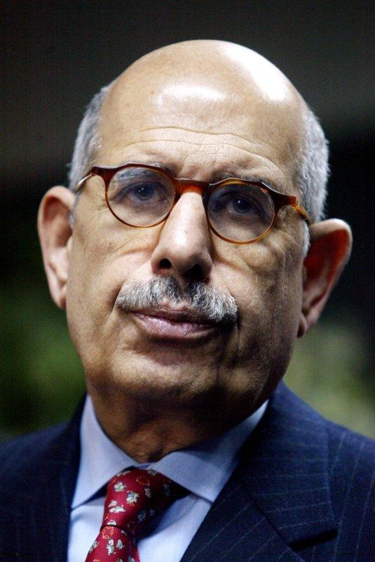Mohamed ElBaradei. (UPI Photo/Mohammad Kheirkhah)..