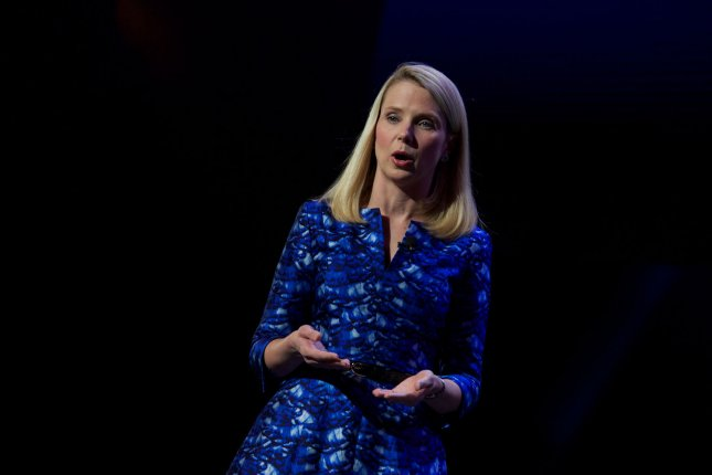 Marissa Mayer, CEO, President and Director of Yahoo! shown on January 7, 2014. UPI/Molly Riley