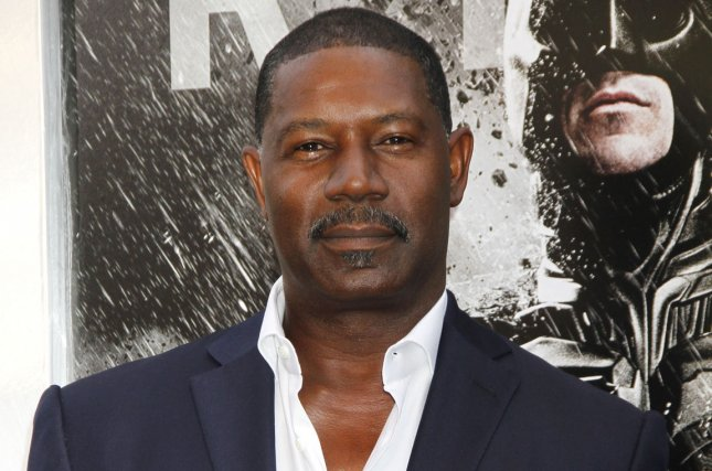 Dennis Haysbert arrives for The Dark Knight Rises premiere in New York on July 16, 2012. Photo by Laura Cavanaugh/UPI