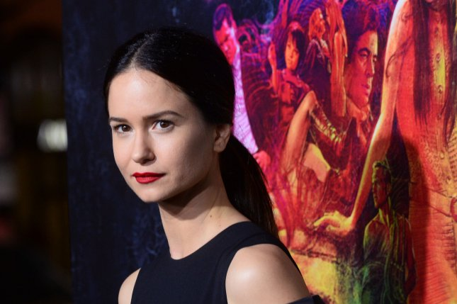 Katherine Waterston at the Los Angeles premiere of Inherent Vice on December 10, 2014. The actress plays Daniels in Alien: Covenant. File Photo by Jim Ruymen/UPI