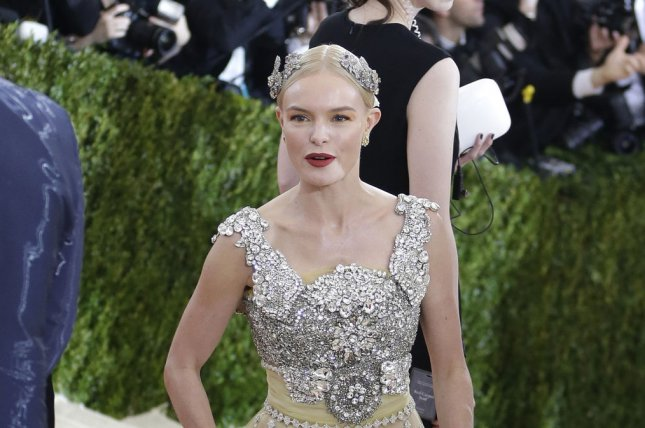 Kate Bosworth arrives at the Costume Institute Benefit at The Metropolitan Museum of Art in New York City on May 2, 2016. The actress will soon be seen in the film Finding Steve McQueen. File Photo by John Angelillo/UPI