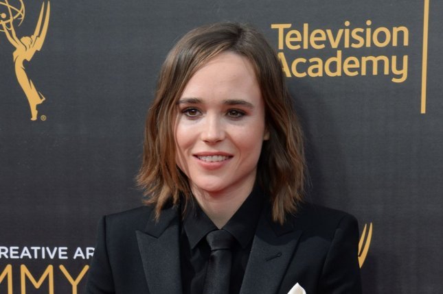 Ellen Page plays Vanya Hargreeves in The Umbrella Academy. File Photo by Jim Ruymen/UPI