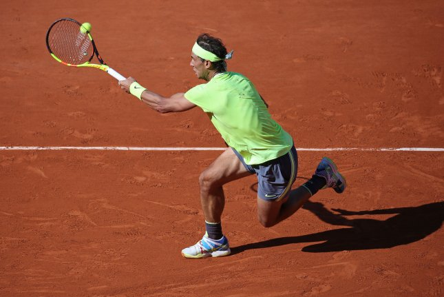 Rafael Nadal is looking to win his 12th French Open title in Paris. The Spaniard is also trying to win his third consecutive tournament at Roland-Garros. Photo by David Silpa/UPI