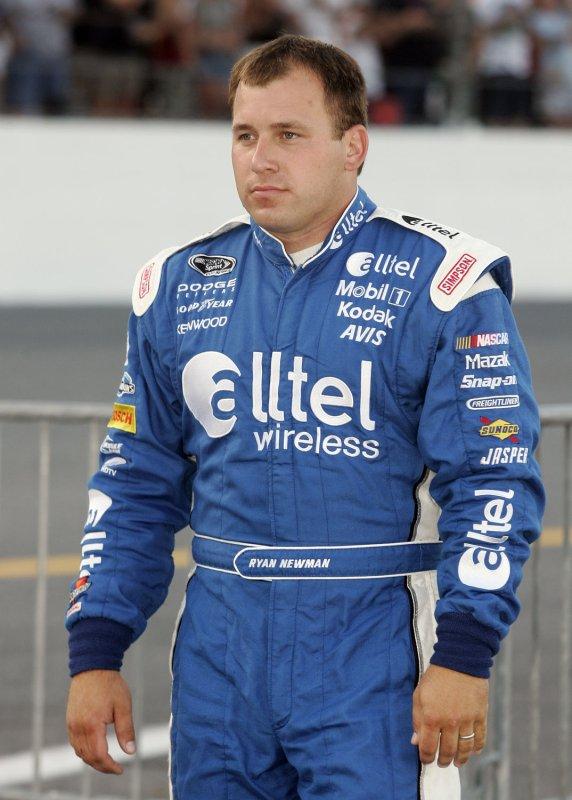 Ryan Newman at Daytona International Speedway in Daytona Beach, Florida on July 5, 2008. (UPI Photo/Michael Bush)