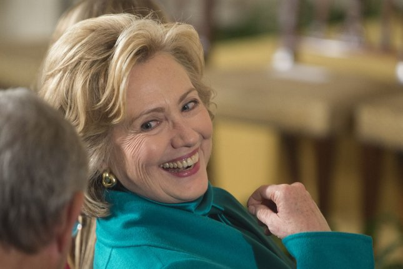 Hillary Clinton. UPI/Kevin Dietsch