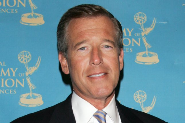 Brian Williams arrives in the press room with his Emmy at the News and Documentary Emmy Awards at Rose Hall, Jazz at Lincoln Center in New York on September 21, 2009. UPI/Laura Cavanaugh