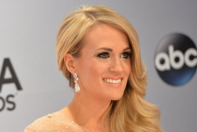 Carrie Underwood launched fitness clothing line Calia by Carrie Undewood on Thursday. File photo by Kevin Dietsch/UPI