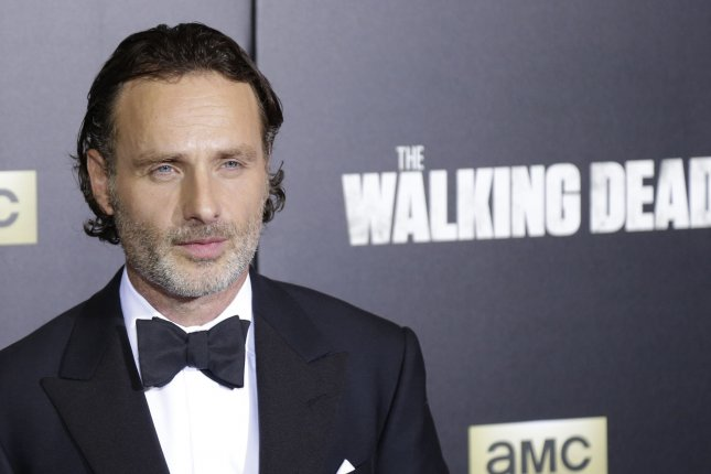 Andrew Lincoln would be welcome to appear in his Walking Dead producer Gale Anne Hurd's new show, Lore. File Photo by John Angelillo/UPI
