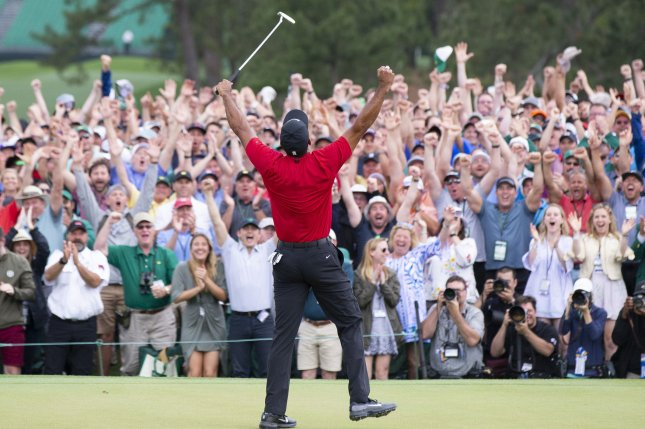 Image result for tiger woods 2019 masters