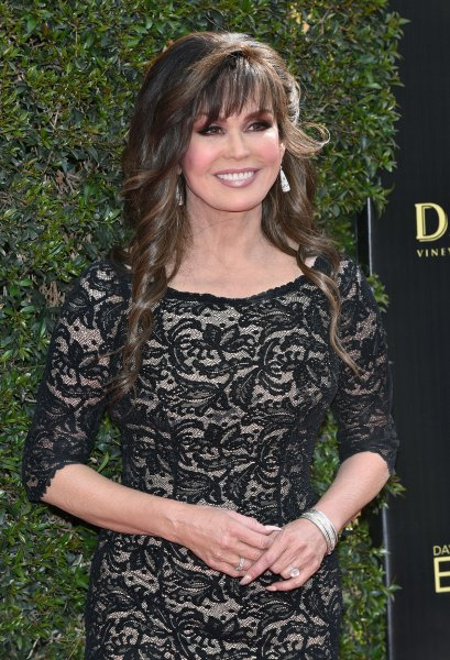 Marie Osmond arrives on the red carpet for the 45th Annual Daytime Emmy Awards at the Pasadena Civic Auditorium in Pasadena, Calif., on April 29, 2018. She turns 60 on October 13. File Photo by Chris Chew/UPI