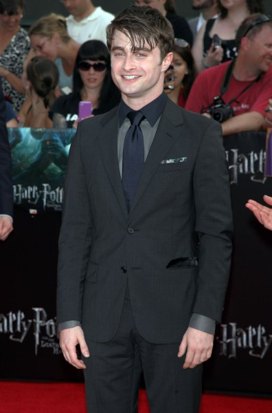 Daniel Radcliffe arrives for the premiere of Harry Potter and the Deathly Hallows - Part 2 at Avery Fisher Hall, Lincoln Center in New York on July 11, 2011. UPI Photo/Laura Cavanaugh