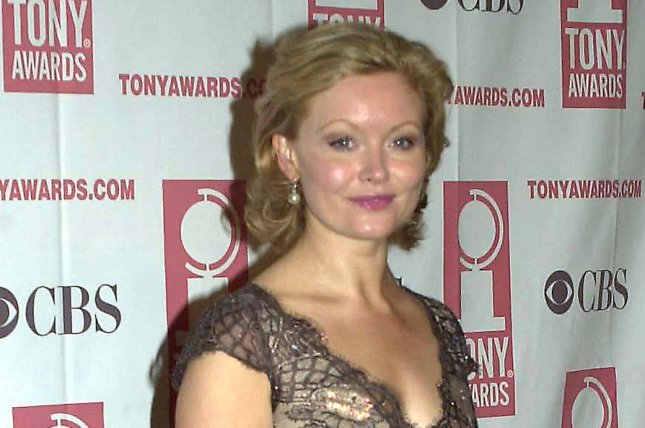 Actress Essie Davis poses at the May 12, 2004 Tony Award nominee luncheon in New York. Photo by Ezio Petersen/UPI
