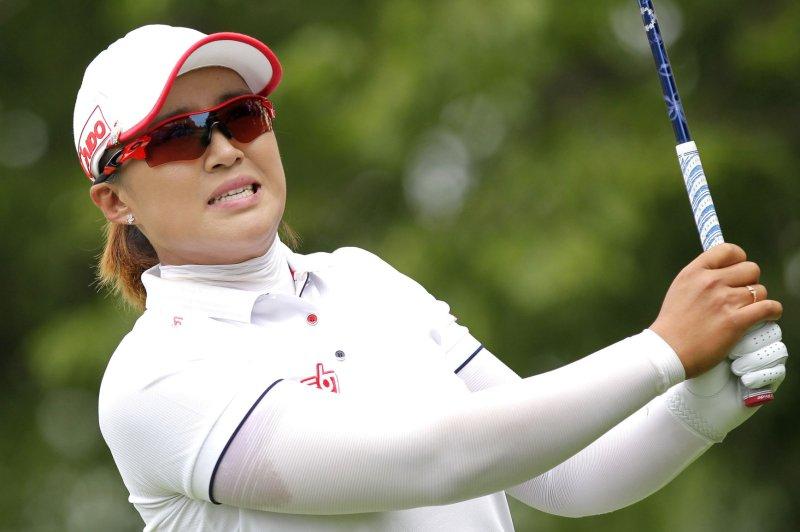Amy Yang of Korea. Photo by John Angelillo/UPI